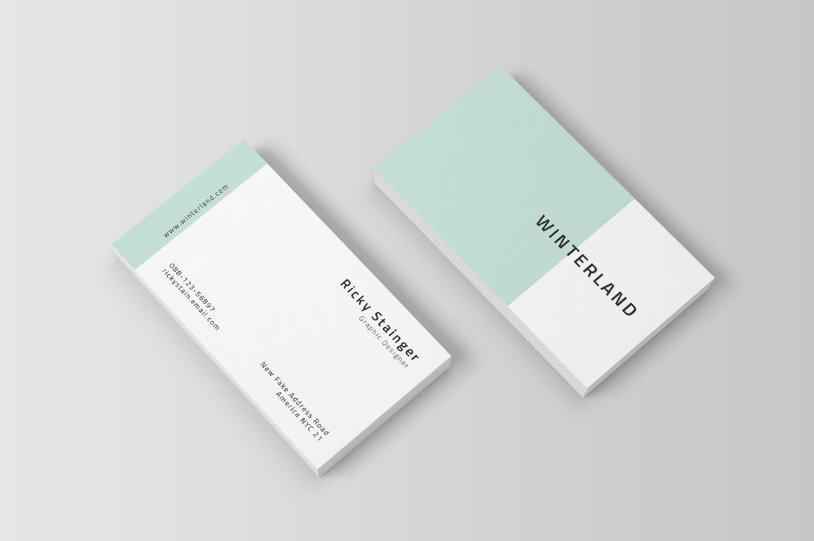 Simple business card template business card templates for Simple business card template free