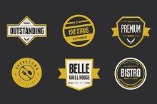 Vintage Logos & Badges Restaurant