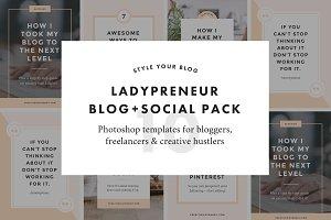 Ladypreneur Social Pack