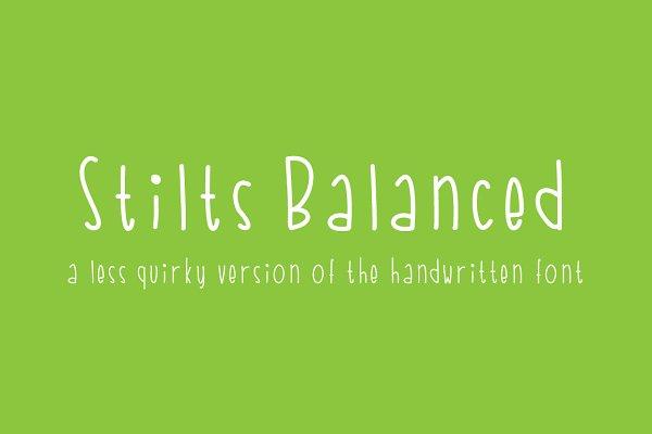 Stilts Balanced
