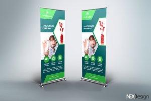Pharmacy Roll-Up Banner - SK