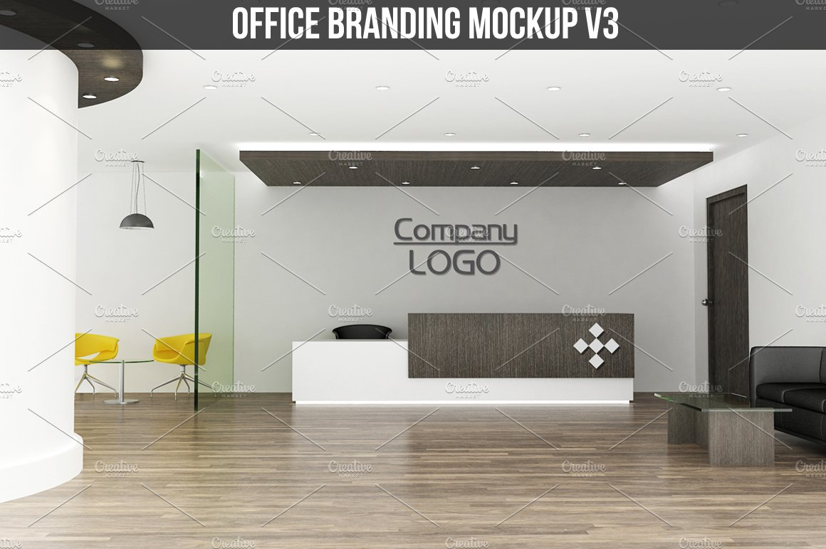 Office branding Mockup v3 ~ Product Mockups ~ Creative Market