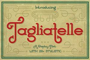 Tagliatelle Font
