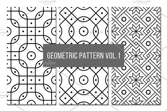 Seamless Geometric Pattern Vol 1