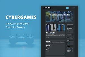 CyberGames - Cheap WordPress Theme