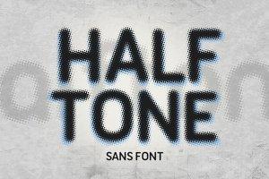 Halftone Sans