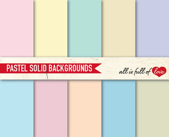 Pastel Solid Background Paper