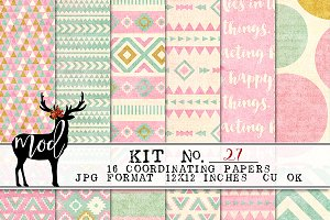 Background Paper Kit 27