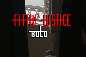 Fittin' Justice Bold