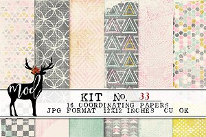 Background Paper Kit 33