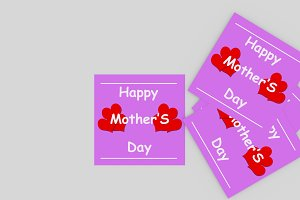 Heart Mother's Day Greeting Card
