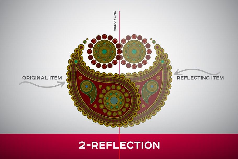 Mandala Pattern Illustrator Template