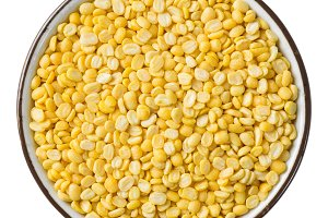 Hulled split mung bean