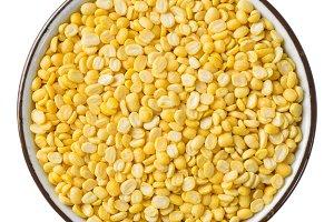 Hulled split mung bean