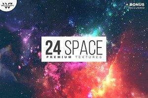 24 SPACE Premium Textures Pack
