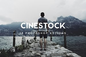 CineStock Photoshop Actions