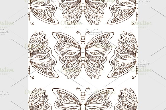 Butterfly Seamless Pattern