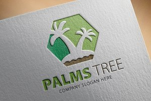 Palms Tree Logo