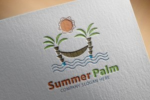 Summer Palm Logo