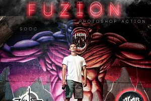 FUZION (ALAB FX photoshop action)