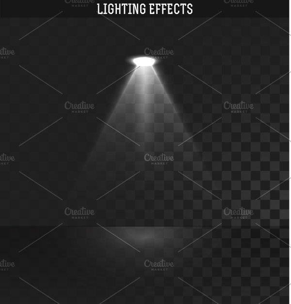 Light Effect Ies Lighting Objects Creative Market