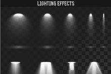 Set light effect. Ies light