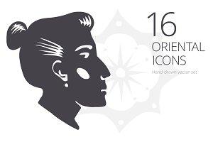 16 Oriental Icons