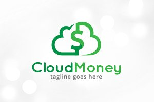Cloud Money Logo Template