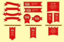 Set of royal Banner