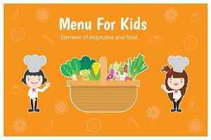 FOOD ELEMENT FOR KID'S MENU