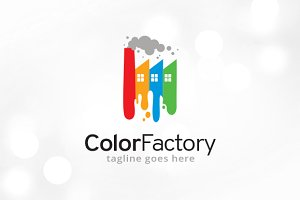 Color Factory Logo Template
