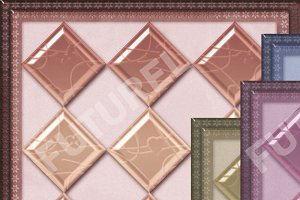 4 color glass tiles