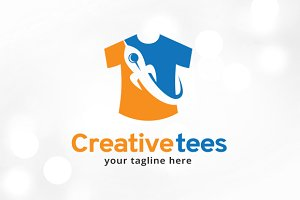 Creative Tees Logo Template