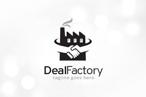 Deal Factory Logo Template