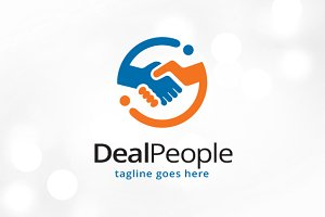 Deal People Logo Template