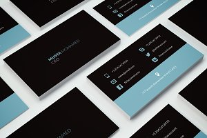 Clean Minimal Business Card - 04