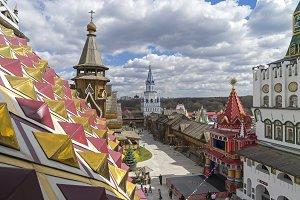 Kremlin in Izmailovo, Moscow.