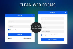 Clean Web Forms