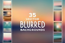 Blurred backgrounds in high quality