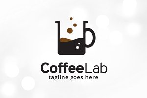 Coffee Lab Logo Template