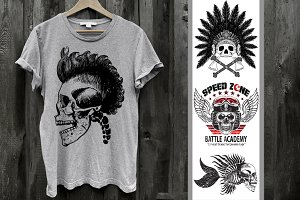 SKULL GRAPHICS - Skull Tattoo