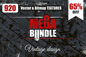 920 VECTOR TEXTURES. MEGA BUNDLE