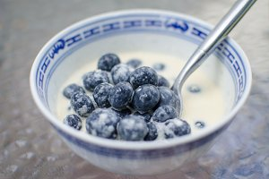Blueberries and Cream
