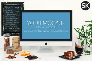iMac mockup_cooking