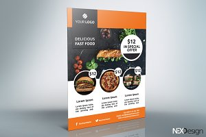 Fast Food Flyer - SB