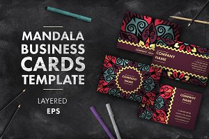Mandala business card 009