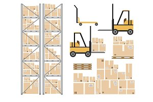 Warehouse load boxes