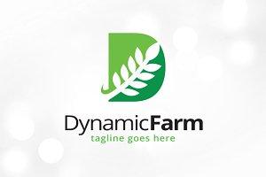 Leaf Letter D Logo Template