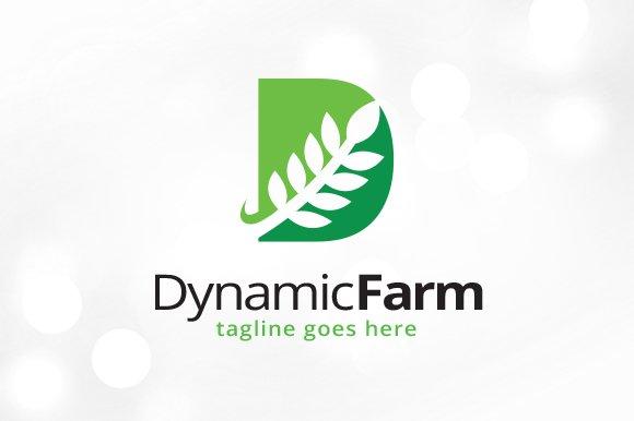 Leaf Letter D Logo Template Logo Templates Creative Market