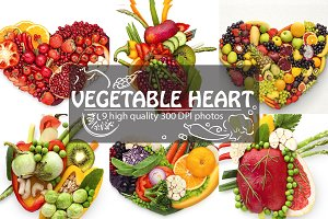 Veggie heart mix.
